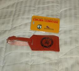 SOUTHWEST AIRLINES BOSTON CELTICS LUGGAGE ID TAGS NEW LOT OF
