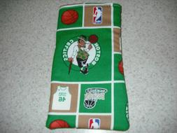 Sunglass / Eyeglass Soft Fabric Case - Boston Celtics - Bask