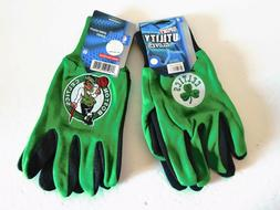 TWO  PAIR OF BOSTON CELTICS, SPORT UTILITY GLOVES FROM FOREV