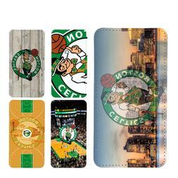 wallet case Boston Celtics galaxy note 9 note 3 4 5 8 J3 J7